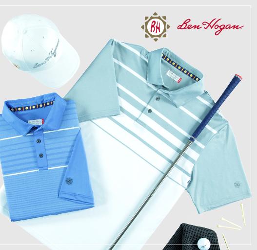wholesale custom clothing manufacturers ben hogan golf shirts for sale